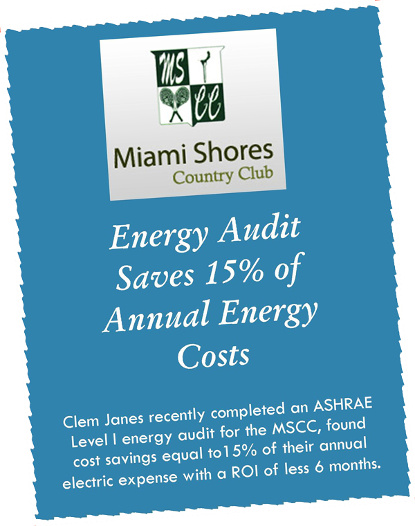 Audit finds 15% savings of annual electric cost